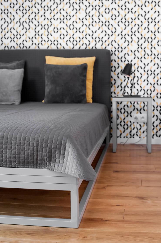 Bedroom by Joanna Kubieniec, Modern