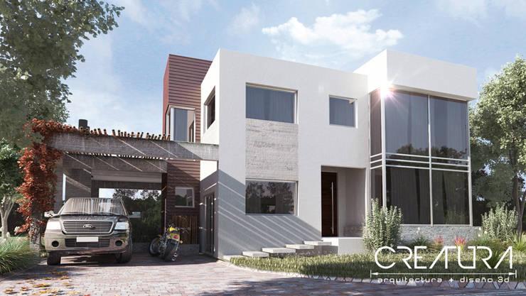 Casas de estilo  por Creatura Renders, Moderno