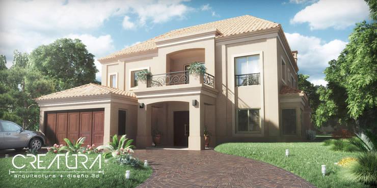 Casas de estilo  por Creatura Renders, Colonial