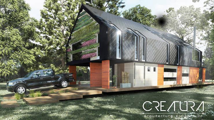 Casas de estilo  por Creatura Renders, Rural
