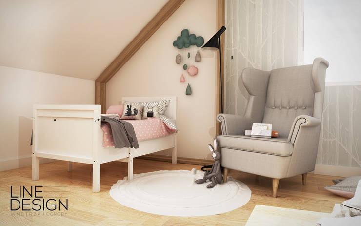 Pokój dziecięcy 01: styl , w kategorii Pokój dziecięcy zaprojektowany przez Line Design