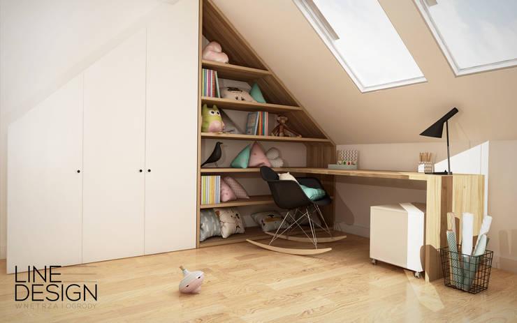Pokój dziecięcy 02: styl , w kategorii Pokój dziecięcy zaprojektowany przez Line Design
