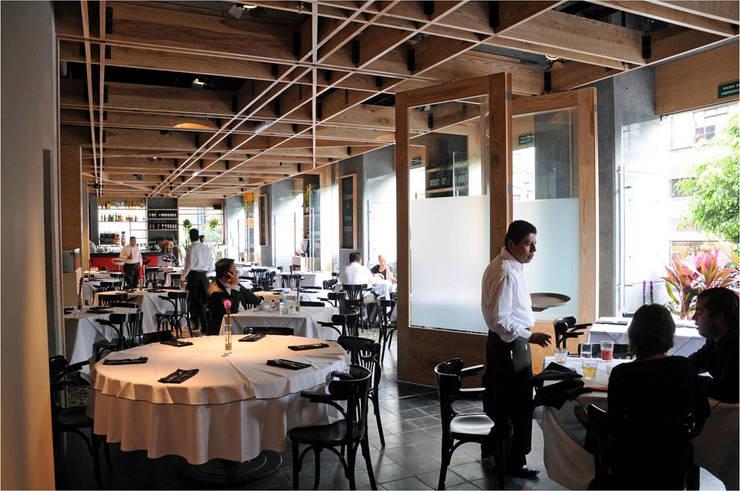 Restaurante Spuntino: Comedores de estilo  por Serrano Monjaraz Arquitectos