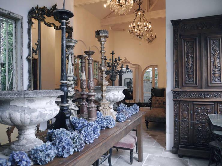 aje antiques Jardin: aje antiquesが手掛けたリビングルームです。,