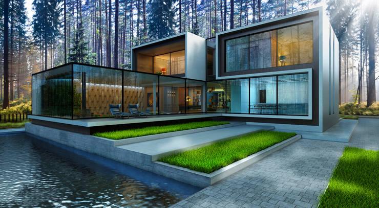 House 96: Дома в . Автор – ALEXANDER ZHIDKOV ARCHITECT
