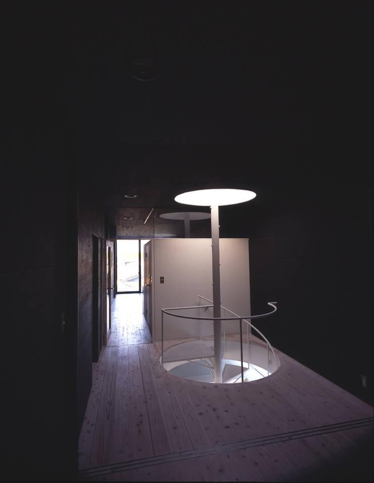 I-HOUSE: 株式会社長野聖二建築設計處が手掛けた寝室です。