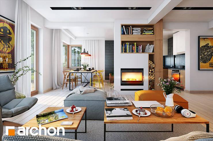 Stoliki DOBLO: styl , w kategorii Salon zaprojektowany przez ArchonHome.pl
