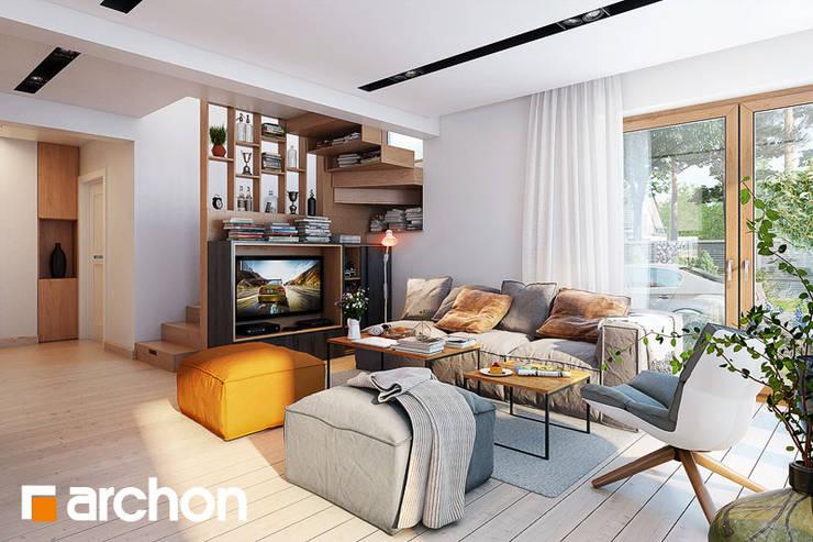 Sofa JUMBO: styl , w kategorii Salon zaprojektowany przez ArchonHome.pl