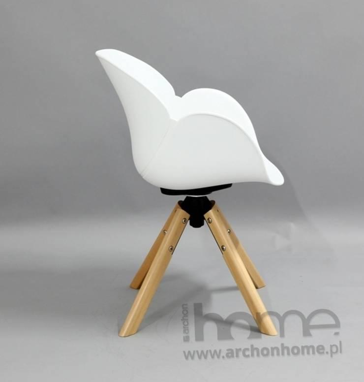 Fotel FLOWER: styl , w kategorii Salon zaprojektowany przez ArchonHome.pl