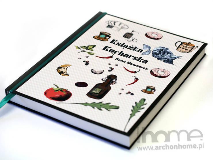Własna książka kucharska: styl , w kategorii Kuchnia zaprojektowany przez ArchonHome.pl