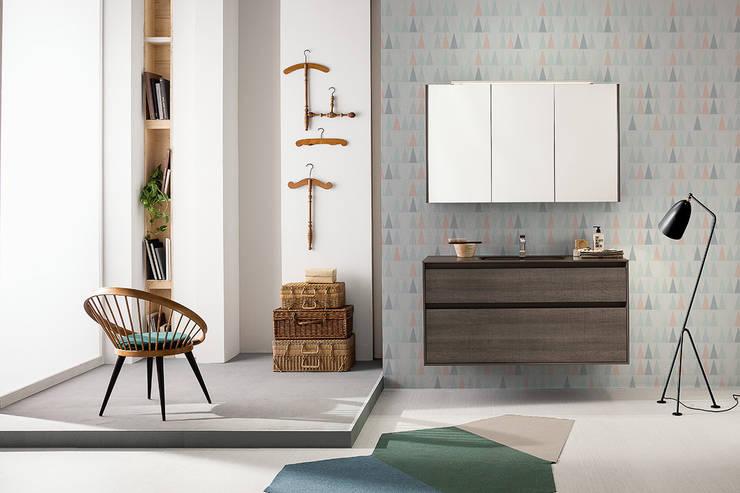 Summit collection: furniture elements: Bagno in stile  di Mastella Design