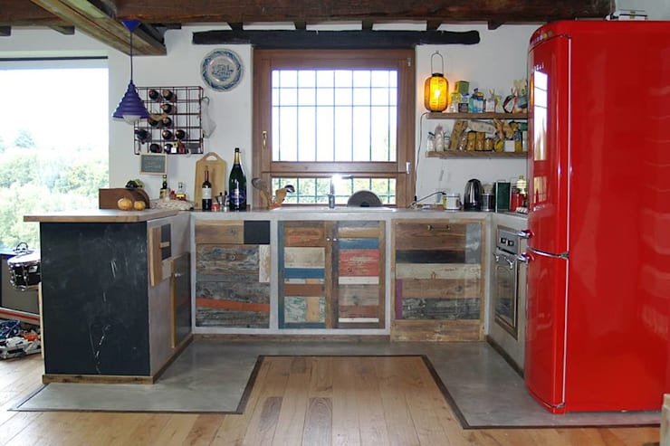 industrial Kitchen by Laquercia21