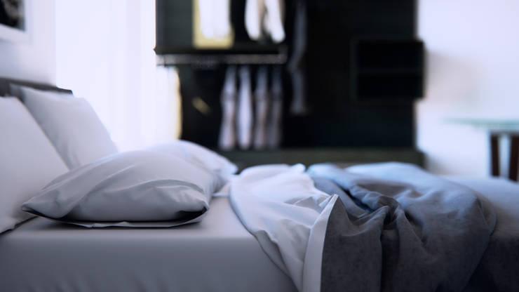 Dormitorio: Dormitorios de estilo  por AQ Rendering
