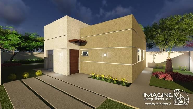 Residencia Unifamiliar:   por Imagine Arquitetura,