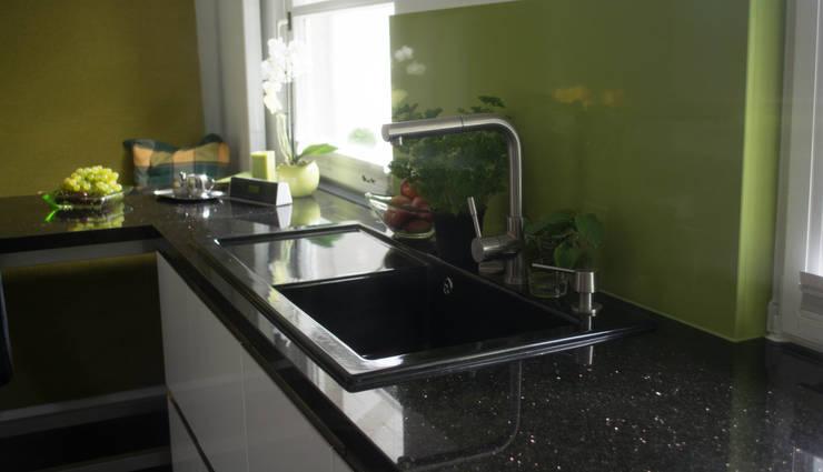 Küchenarbeitsplatte Naturstein Star Galaxy und ...