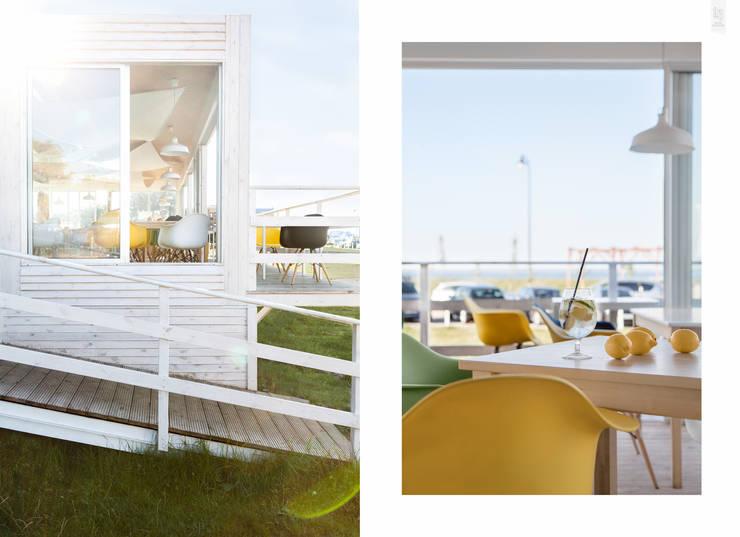 Fotografia architektury: Restauracja Surf Messa: projekt WZ Studio: styl , w kategorii Bary i kluby zaprojektowany przez Pion Poziom - fotografia wnętrz