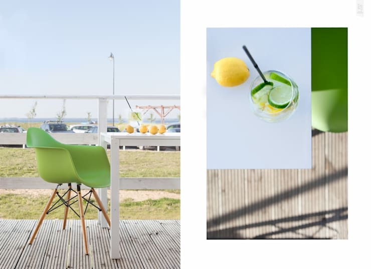 Fotografia architektury: Restauracja Surf Messa: projekt WZ Studio: styl , w kategorii Balkon, weranda i taras zaprojektowany przez Pion Poziom - fotografia wnętrz