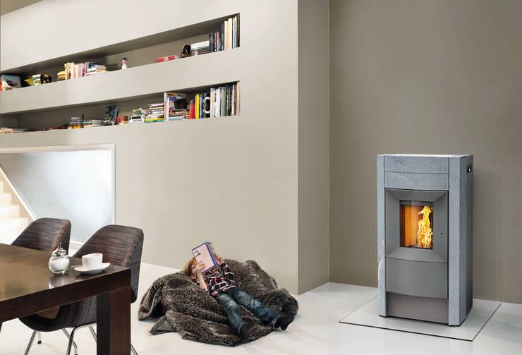 Living room by RIKA Innovative Ofentechnik GmbH