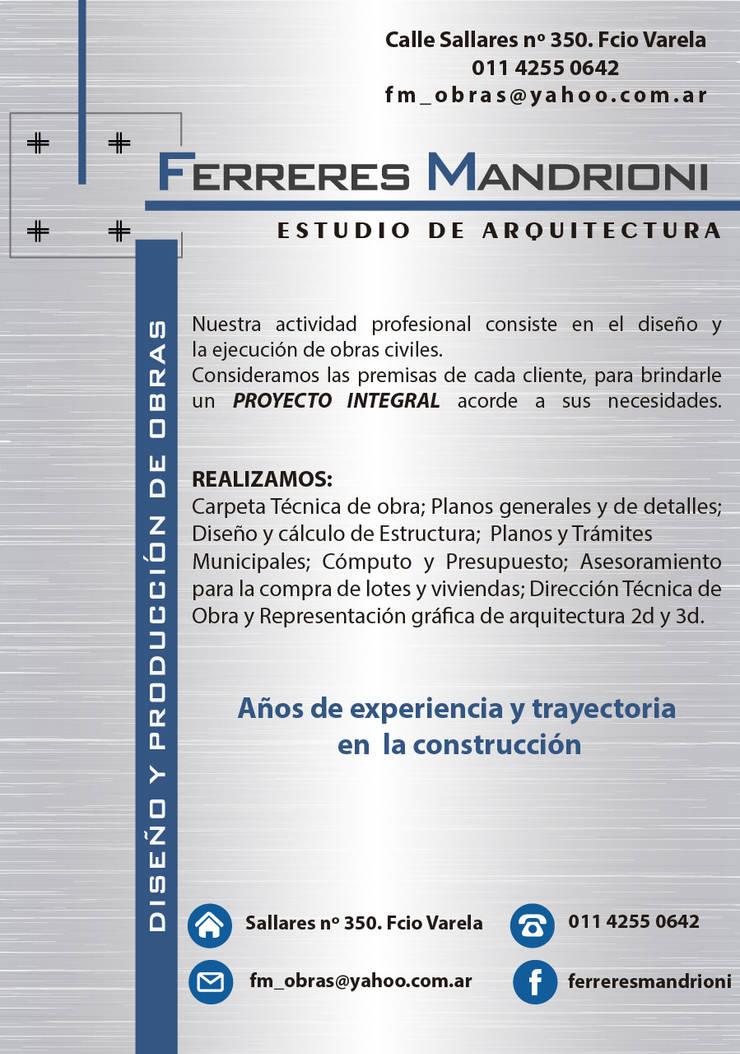 NOSOTROS:  de estilo  por Ferreres & Mandrioni