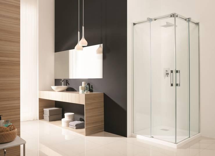 Kabina prysznicowa Espera KDD Radaway: styl , w kategorii Łazienka zaprojektowany przez Radaway