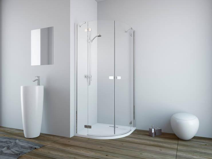 Kabina prysznicowa Fuenta New PDD Radaway: styl , w kategorii Łazienka zaprojektowany przez Radaway
