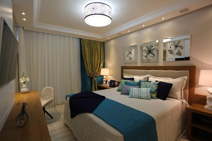 Apartamento: Quartos  por Spengler Decor,