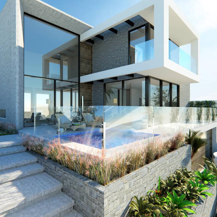Häuser von Manuela Di Giorgio | Arquitetura e Interiores, Modern Beton