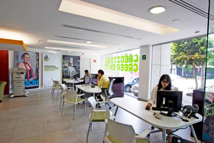Studio in stile  di usoarquitectura, Moderno