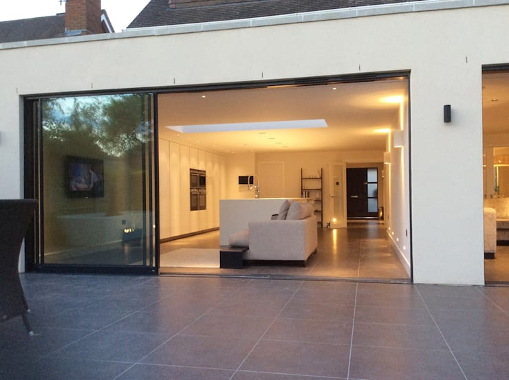 Private residential house—Elstree Modern houses by New Images Architects Modern