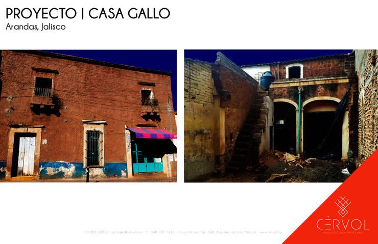 Proyecto de Restauración | Casa Gallo: Restaurantes de estilo  por CÉRVOL
