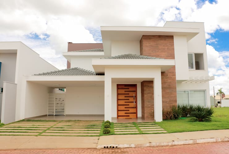 Houses by Caroline Argenta e Elisangela Chioca, Modern