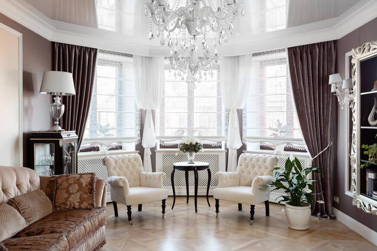 Квартира в г.Калининграде: Гостиная в . Автор – AGRAFFE design