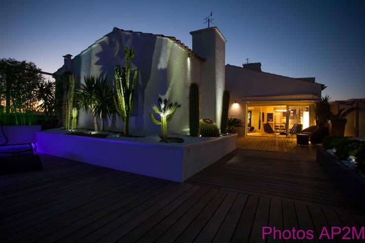 Terrace by Architecture Nature & Lumière