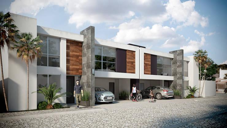 GAMMA II: Casas de estilo  por DELTA