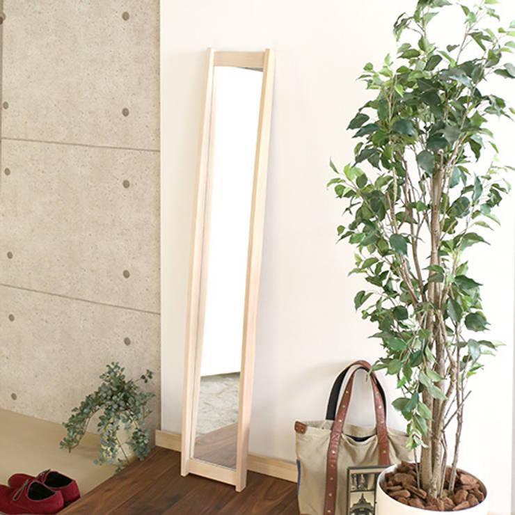 scandinavian Dressing room by 株式会社 大雪木工
