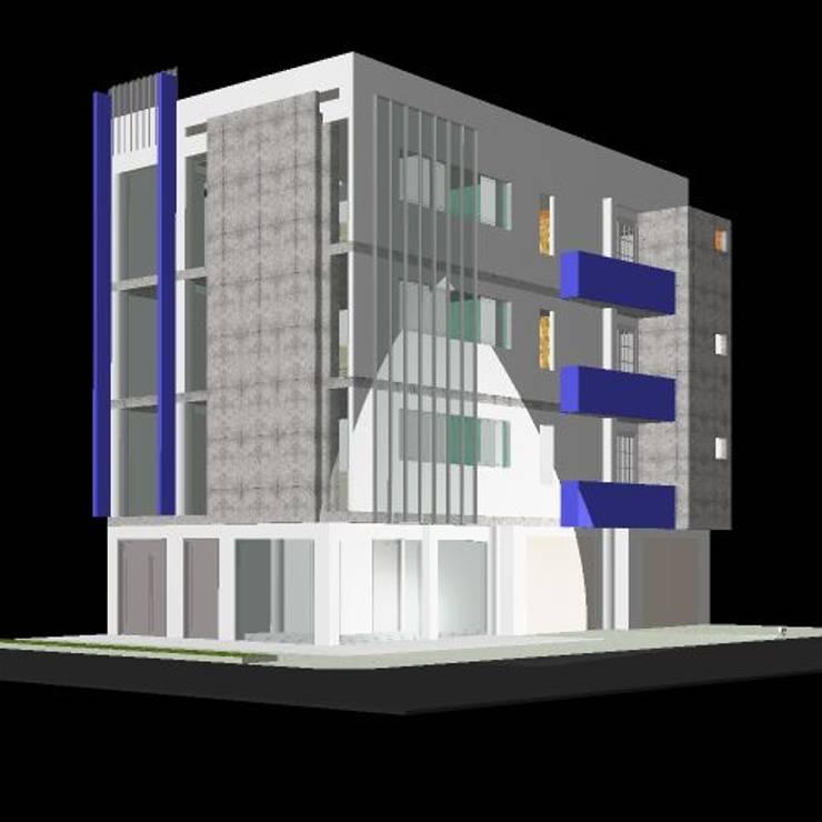 EDIFICIO VICTORIA:  de estilo  por arquitectura sostenible colombia