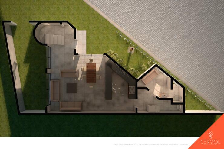Houses by CÉRVOL