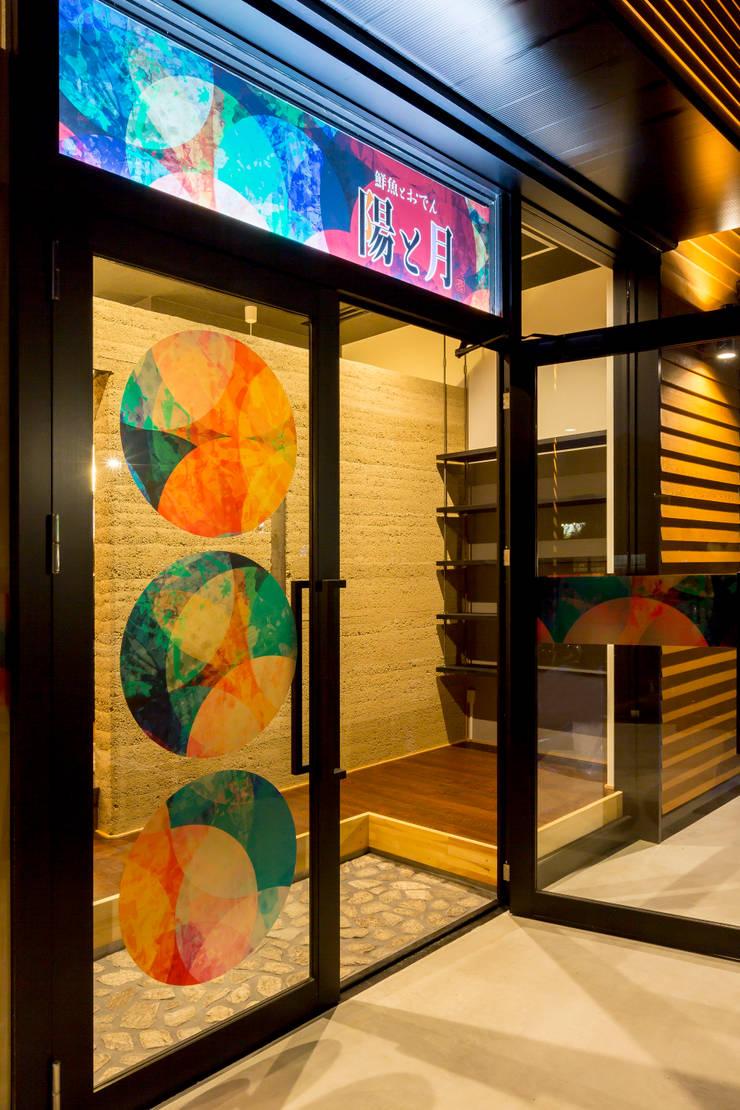 鮮魚とおでん 陽と月 (居酒屋) 店舗: 株式会社 鳴尾工務店が手掛けたレストランです。,