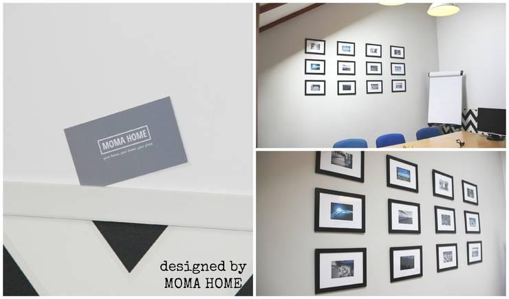 Metamorfoza salki konferencyjnej w firmie informatycznej: styl , w kategorii  zaprojektowany przez MOMA HOME