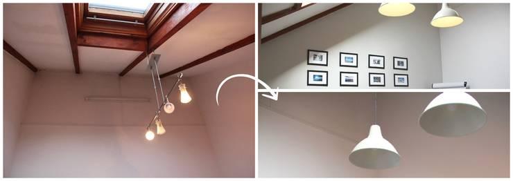 Zmiana oświetlenia: styl , w kategorii  zaprojektowany przez MOMA HOME