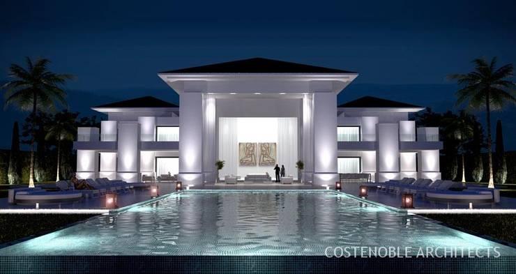OPUS V14-02: Casas de estilo moderno de MANSION DESIGN