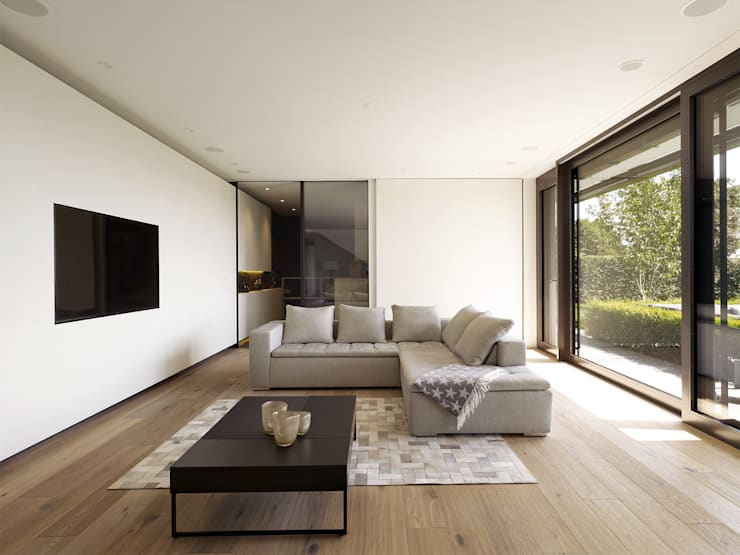 Projekty,  Salon zaprojektowane przez Meier Architekten GmbH