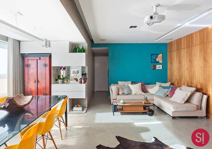 Comedores de estilo  por Botti Arquitetura e Interiores-Natália Botelho e Paola Corteletti