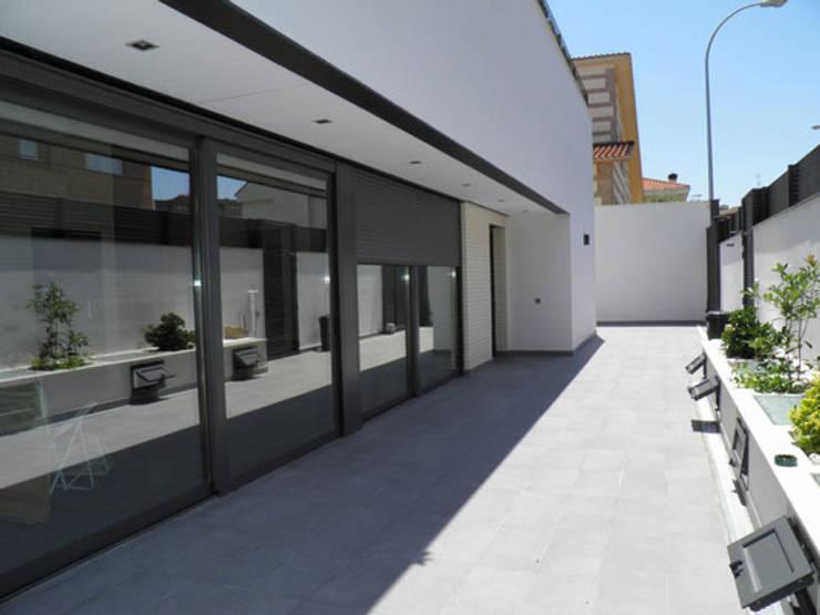 Дома в . Автор – Rodrigo Pérez, Estudio de Arquitectura.