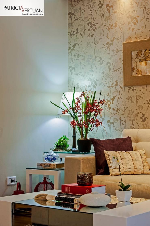 Sala de Estar: Salas de estar  por Patricia Vertuan,