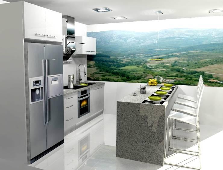 Cocinas de estilo  por ARCE MOBILIARIO