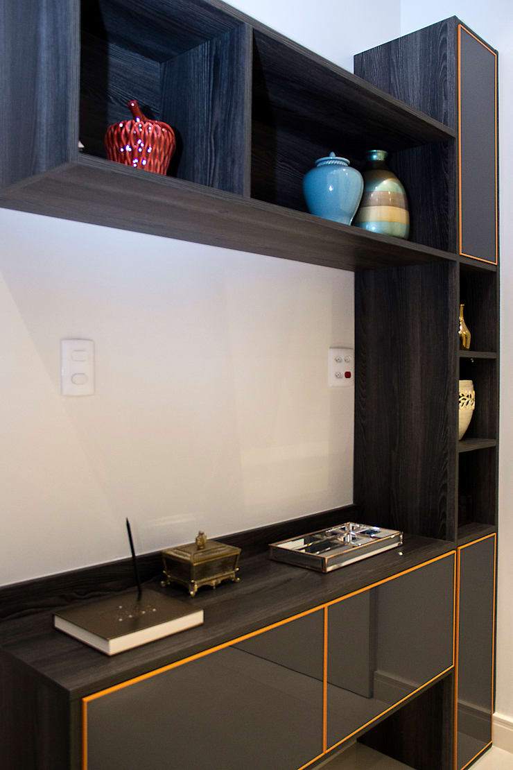 現代  by Ana Adriano Design de Interiores, 現代風 木頭 Wood effect