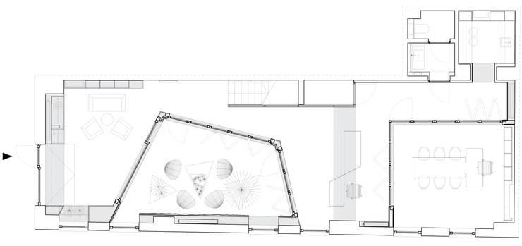 Centor Showroom: styl , w kategorii Przestrzenie biurowe i magazynowe zaprojektowany przez xxxxx