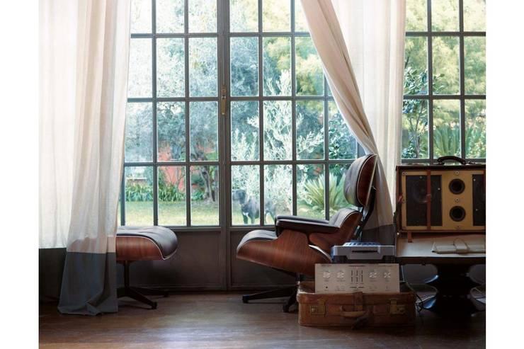 Projekty,  Salon zaprojektowane przez Interiortime