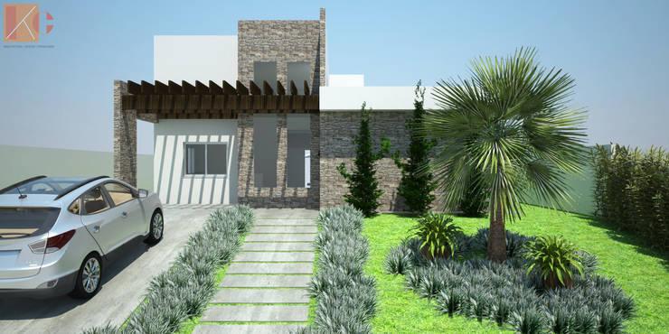 Casa SS: Casas  por KC ARQUITETURA urbanismo e design,